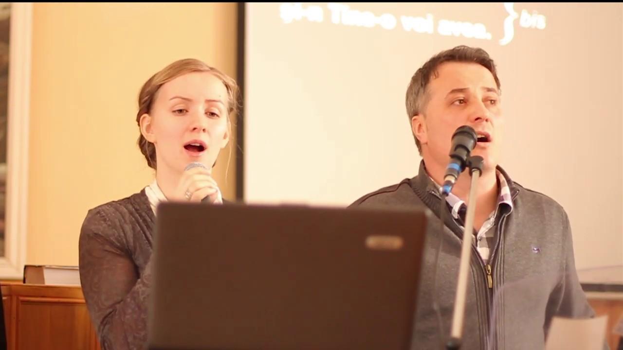 De tine simt nevoie - Lucian si Adelina Conferinta de tineret  Ighiel - Alba 2013