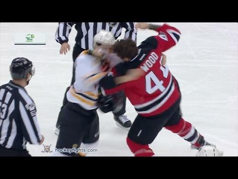 Colin Miller vs Miles Wood Jan 2, 2017