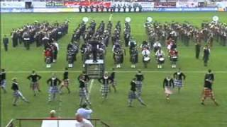 Caber Feidh Pipe Band - Highland Cathedral