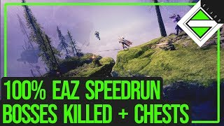 100% EAZ Speedrun in 6:35 - All Minibosses/Boss Killed, All 21 Chests Looted