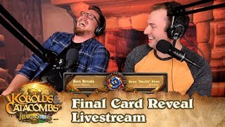 Kobolds & Catacombs Final Card Reveal & Gameplay Livestream