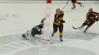 Top Plays: Minnesota at Michigan State | Big Ten Hockey