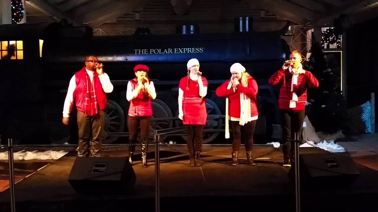 Pop Fusion A Capella Group at SeaWorld Orlando Christmas ...