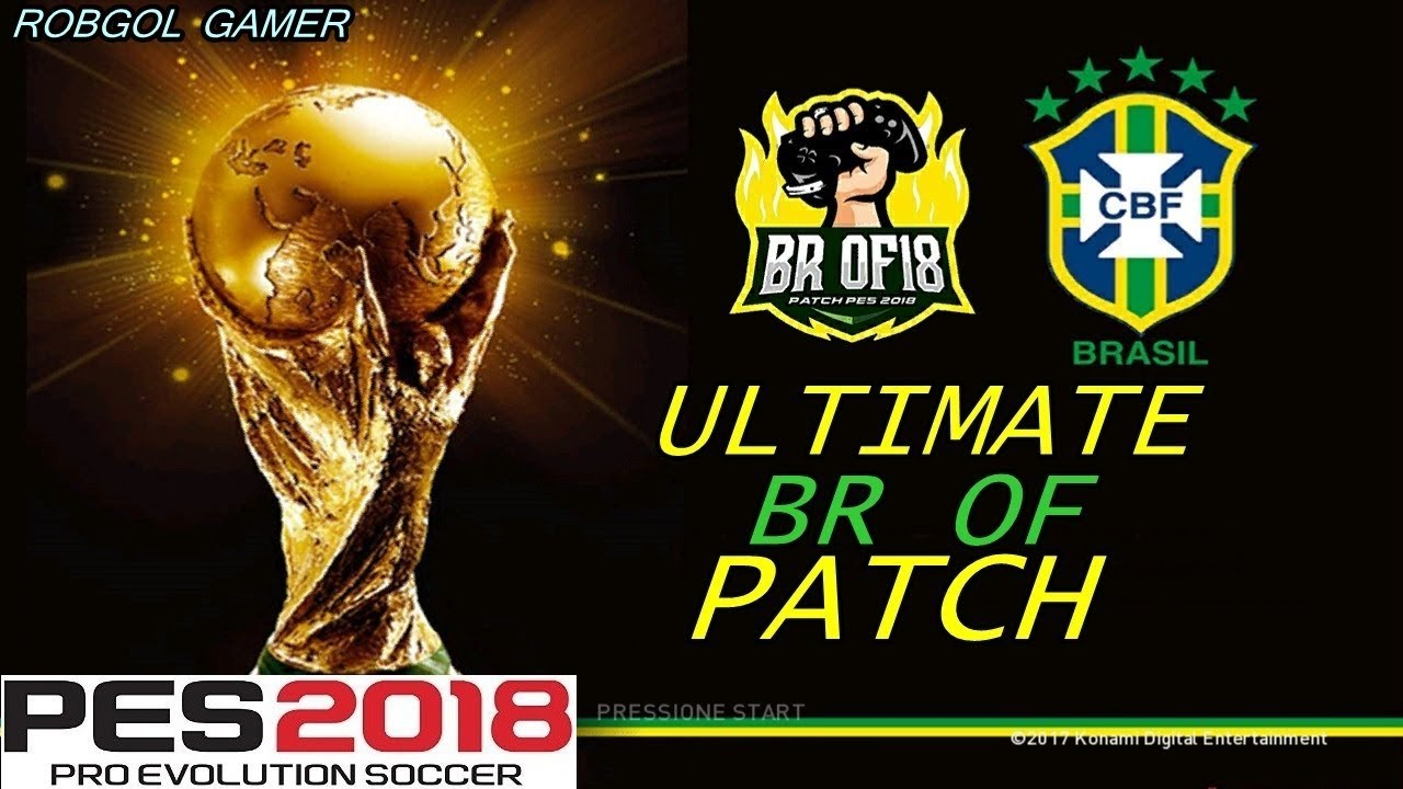 PES 2018 XBOX 360 BR OF Ultimate Patch