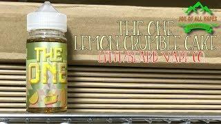 The One Lemon Crumble Cake e liquid~LFNT Dist.