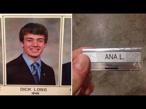 Most Unfortunate Funny Names Ever