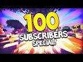 THANKS FOR 100 SUBSCRIBERS | 100 SUBSCRIBER SPECIAL (Surprise is waiting in the video)