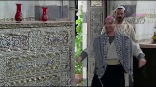 أجمل مرة يغني النمس هلا والله ويرقص ويدبك أمام مأمون بيك , مسلسل باب الحارة  الحلقة 21 مشهد 2