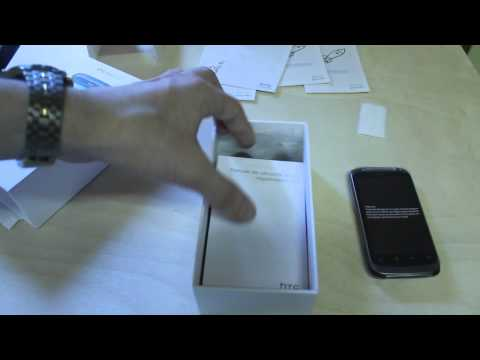HTC Desire S Unboxing+First Look