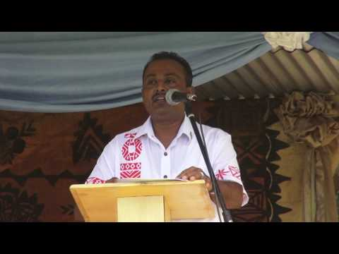 Fijian Assistant Minister for Infrastructure, World Water Day 2017 celebration