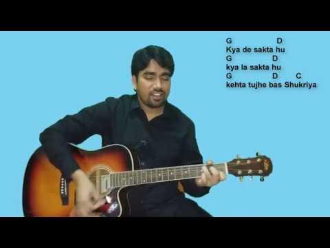 Kya De Sakta Hu (Sukriya Tera)..! Hindi Christian Song..! Guitar Tutorial..!