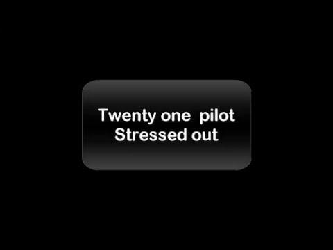 twenty one pilot - stressed out ( lyrics + traduction fr)
