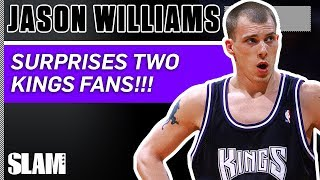 White Chocolate SURPRISES FANS!!! Jason Williams Shares His Crossover Secrets | SLAM Profiles