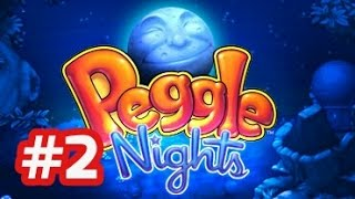 Peggle Nights - PC Walkthrough - Part 2 Stage 2 (Level 2-1 to 2-5)