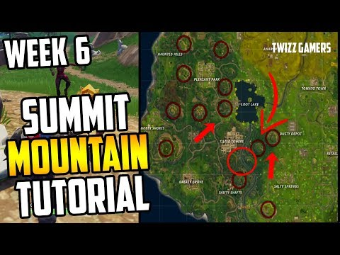 summit the highest mountain fortnite