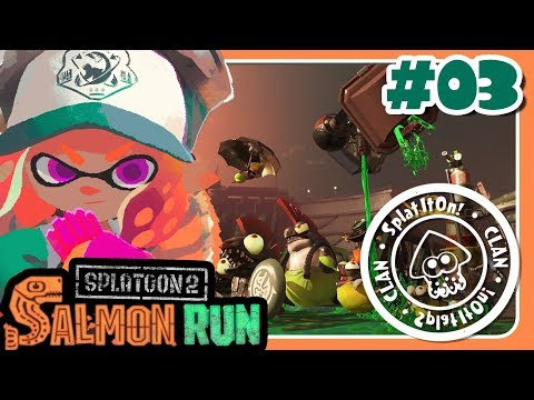 MODO JEFAZO | SALMON RUN CON EL CLAN SIO | SPLATOON 2