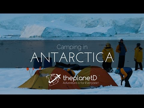 Camping on Antarctica