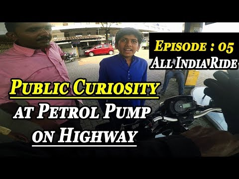 Things People Ask on Highway petrol pump about superbike | All India Ride Part 5 | Surat to Ajmer