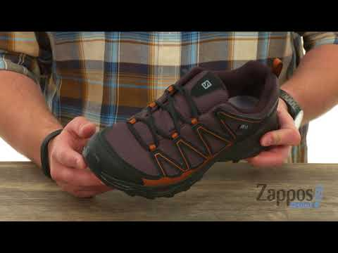 196bac5665ff Wet weather will never slow you down when you are hiking in the Pathfinder  CSWP shoes from Salomon®. Quick-drying
