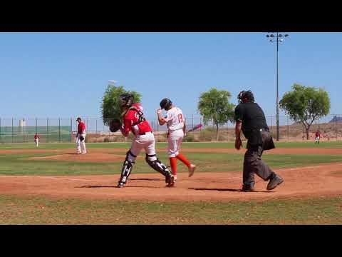 6-9-2018 Athletics 14U Elite vs Players Choice Academy 14U