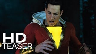 SHAZAM! | Teaser Trailer (2019) Legendado HD