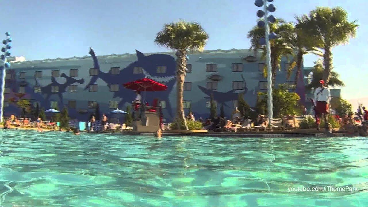 Disney 39 S Art Of Animation Finding Nemo Pool Walt Disney World Youtube