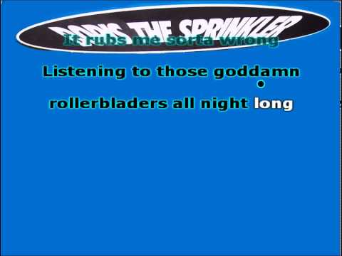 Karaoke Punk - Boris the Sprinkler - Goddamn Rollerbladers