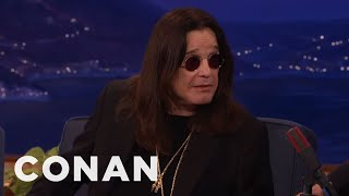 Ozzy Osbourne Accidentally Texted Robert Plant Looking For His Cat CONAN On TBS