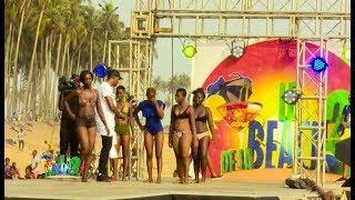 Le Bikini show au Beach de la 2 sur la plage Houphouet Boigny