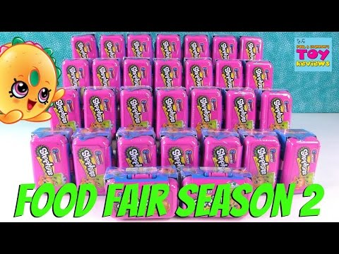 Shopkins Food Fair Season 2 Lunchbox 2 Pack Toy Review Channel Opening | PSToyReviews