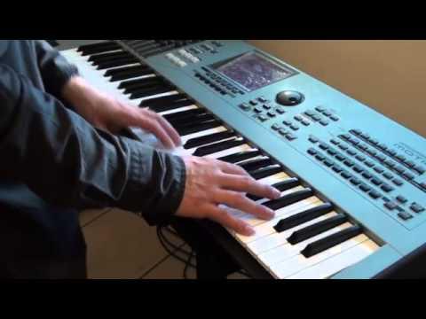 Funk Jazz Organ Solo on Yamaha Motif XS