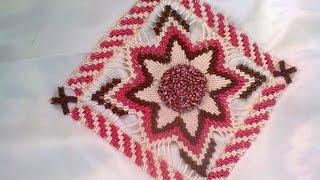 تعليم الطرز التركي مع كيفية عمل اطار tarz torki Arab Embroidery