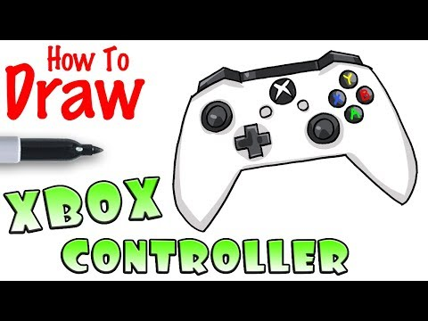 how-to-draw-xbox-controller