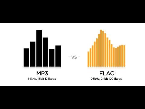 Музыкальные форматы Flac или mp3, какая музыка лучше?