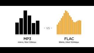 Музыкальные форматы Flac или mp3, в каком формате лучше хранить музыку?