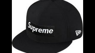 Supreme 2-Tone Box Logo Hat FOR SALE F/W14