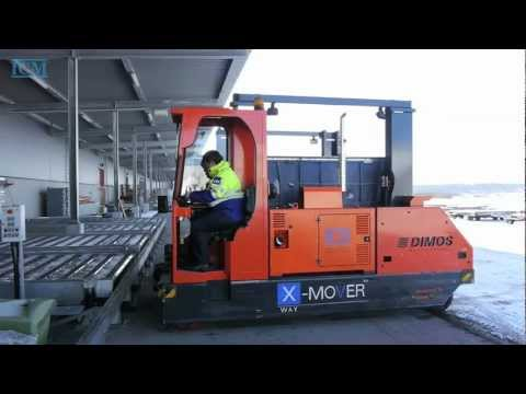 X-Mover: The World's first multi functional transport vehicle for air cargo units