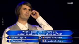 MILLIONENGEWINNER Millionenshow 2013 Mathias Stockinger