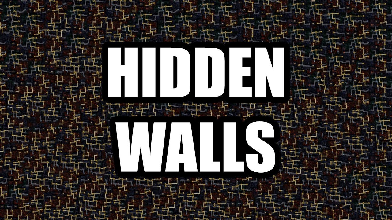 Delve: How to find fractured walls, and get into hidden rooms
