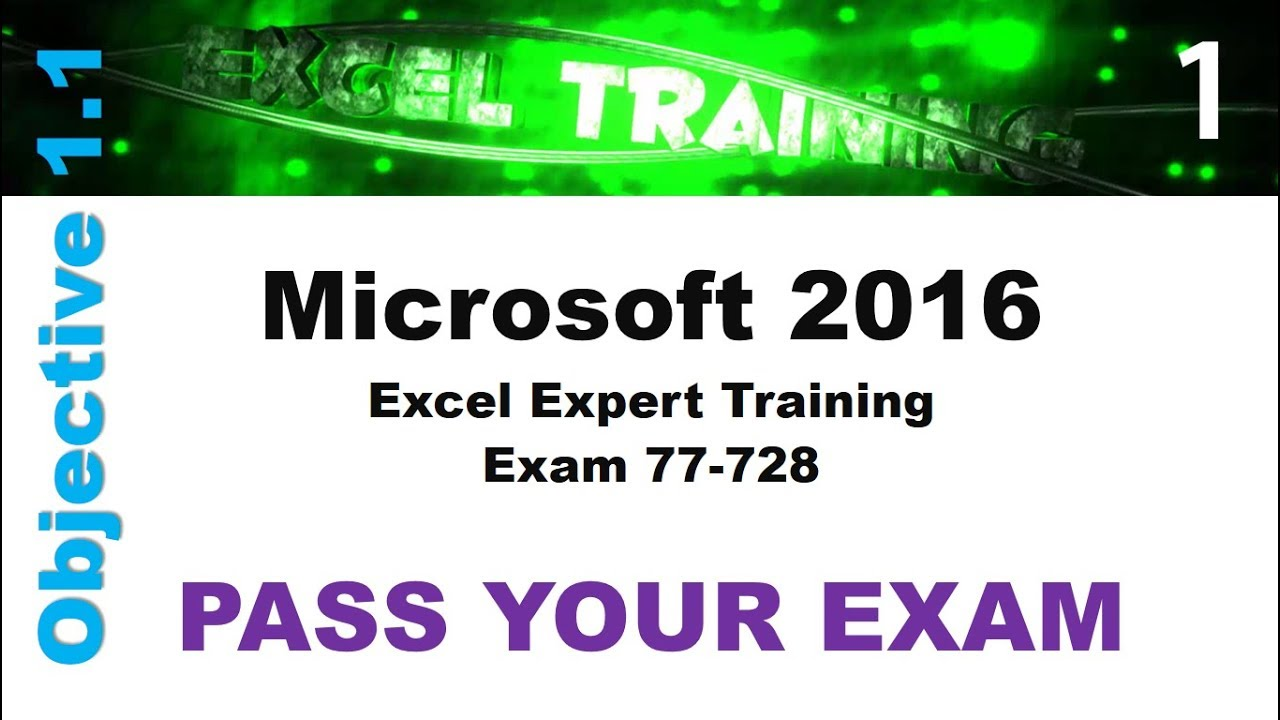 Excel expert training johannesburg advanced excel training microsoft excel 2016 expert training 1betcityfo Image collections