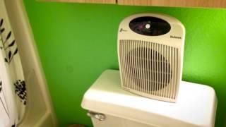 ★☆☆☆☆ Holmes Wall Mountable Heater Fan - Amazon