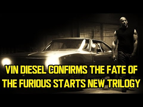 Vin Diesel confirms THE FATE OF THE FURIOUS starts new trilogy