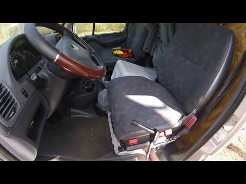 How To Remove Front Seat on a T1N Mercedes Sprinter by ZIMALETA