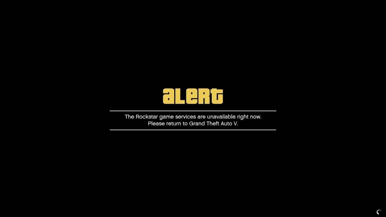 How to fix rockstar game services are unavailable right now