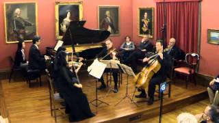 Dvorak Piano quintet op.81 1. movement - Allegro ma non tanto - Artemis Ensemble