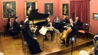 Dvorak Piano quintet op.81 1. movement - Allegro ma non tanto - Artemis Ensemble