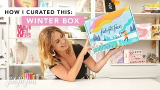 Winter 2019 Box Full Reveal   How I Curated This with Katie Kitchens   FabFitFun