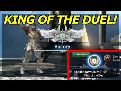 #1 on the SERVER - KING of the DUEL! Lineage 2: Revolution Tips to Rank HIGHER!