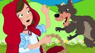 Caperucita Roja Cuento y Canciones | Cuentos infantiles en Español | Dibujos Animados thumbnail