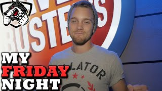 My Friday Night (VLOG): Bellator 159 at Dave and Buster's